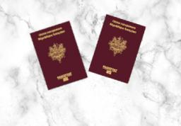 Passeport - 2 personnes