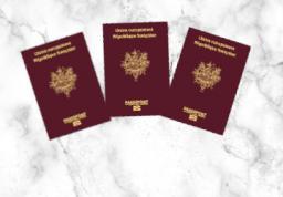 Passeport - 3 personnes