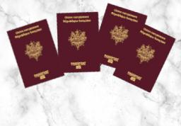 Passeport - 4 personnes