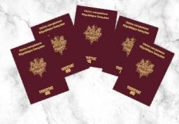 Passeport - 5 personnes